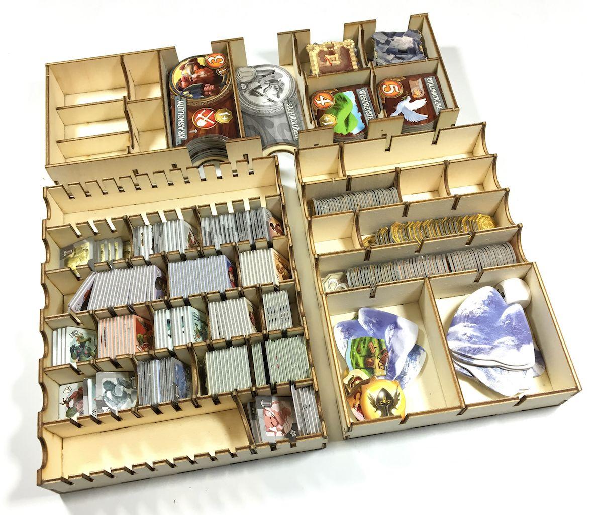 Geekmod - Drewniany insert pasujący do gry Small World