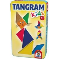 Tangram dla dzieci (w metalowej puszce)