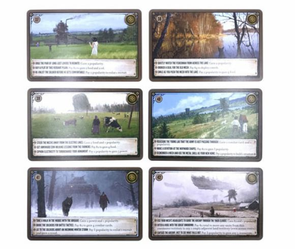 Scythe Karty promocyjne - zestaw 2
