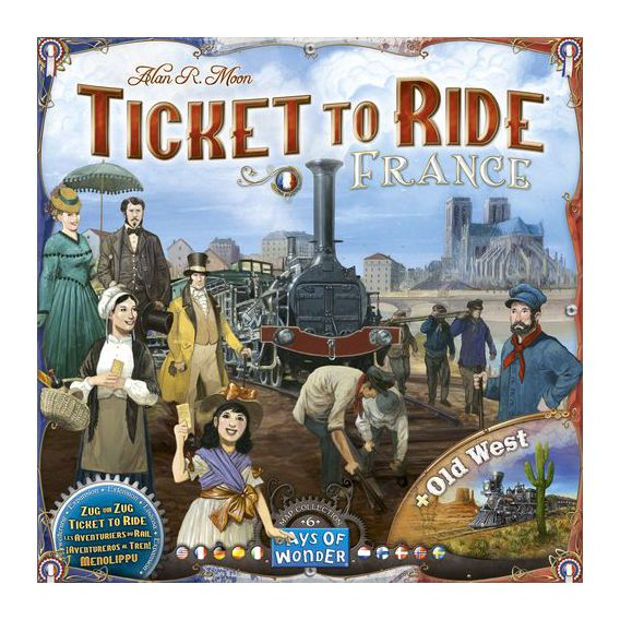 Ticket to Ride - France & Old West: Map Collection - EN Wsiąść do Pociągu Days of Wonder