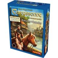 Carcassonne: Karczmy i Katedry (druga edycja polska) Carcassonne Bard Centrum Gier