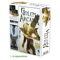Arcana Golem + 4 Expansion DE
