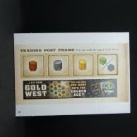 Gold West: Trading Post Promo - dodatek z kalendarza adwentowego 2016(21)