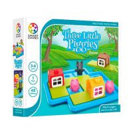 Smart Games - Trzy małe świnki Deluxe Seria Smart Games Smart Games
