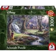 2a3b0548f6e413 PQ Puzzle 1000 el. T. KINKADE Królewna Śnieżka (Disney)