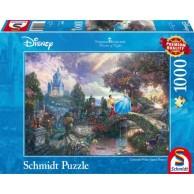 PQ Puzzle 1000 el. THOMAS KINKADE Kopciuszek (Disney) Schmidt Spiele Schmidt Spiele
