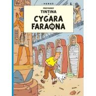 Przygody Tintina. Cygara faraona. Tom 4. Komiksy Przygodowe Egmont