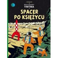 Przygody Tintina. Spacer po Księżycu. Tom 17.