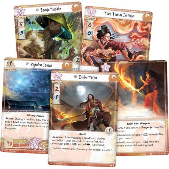 L5R LCG: Disciples of the Void