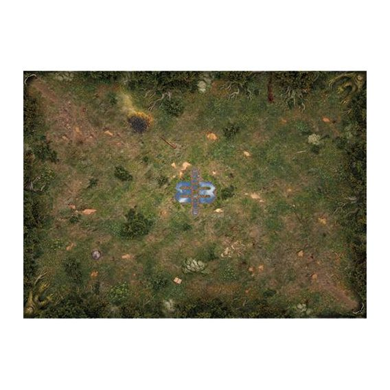 Mage Wars Arena - Straywood Forest Playmat