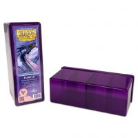 Dragon Shield - 4 Compartment Storage Box - Purple