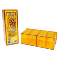Dragon Shield - 4 Compartment Storage Box - Yellow Arcane Tinmen Arcane Tinmen