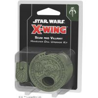 Star Wars: X-Wing - Scum and Villainy Maneuver Dial Upgrade Kit (druga edycja) I fala Rebel