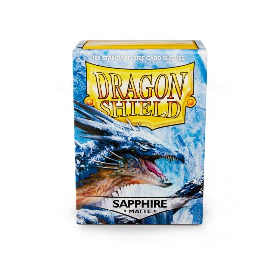 Dragon Shield Matte Sleeves - Sapphire (100 Sleeves)