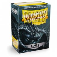 Dragon Shield Standard Sleeves - Matte Slate (100 Sleeves) Do gier karcianych Arcane Tinmen