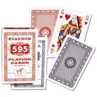 Karty brydżowe 1395 Bridge 595 red