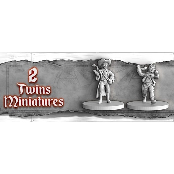Skull Tales: the Twins Characters