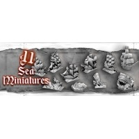 Skull Tales: Sea Miniatures for Voyage Phase