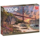 Puzzle 1000 el. Most Golden Gate / San Francisco
