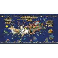 Brettspiel Adventskalender 2018 (Kalendarz Adwentowy 2018)
