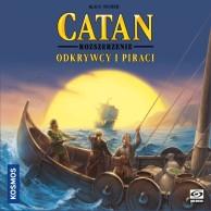 Catan: Gra planszowa - Odkrywcy i Piraci Osadnicy z Catanu Galakta