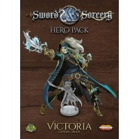 Sword & Sorcery: Immortal Souls - Victoria Hero Pack Pozostałe gry Ares Games