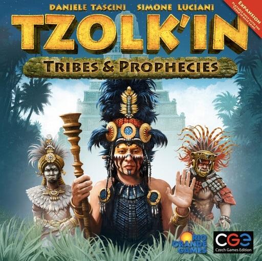 Tzolkin: Kalendarz Majów - Tribes and Prophecies ( edycja angielska)