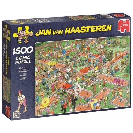 Puzzle 1500 el. JAN VAN HAASTEREN Mini golf