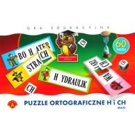 Puzzle ortograficzne h i ch - MAXI