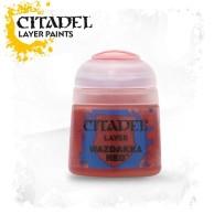 Farba Citadel Layer: Wazdakka Red