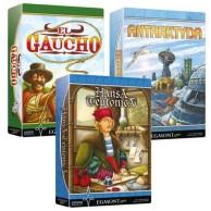 Pakiet gier: ANTARKTYDA + EL GAUCHO + HANSA TEUTONICA