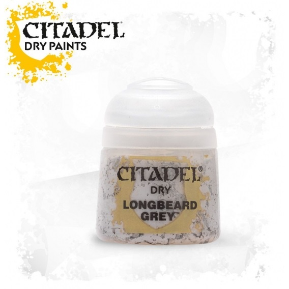 Citadel Dry: Longbeard Grey Citadel Dry Games Workshop