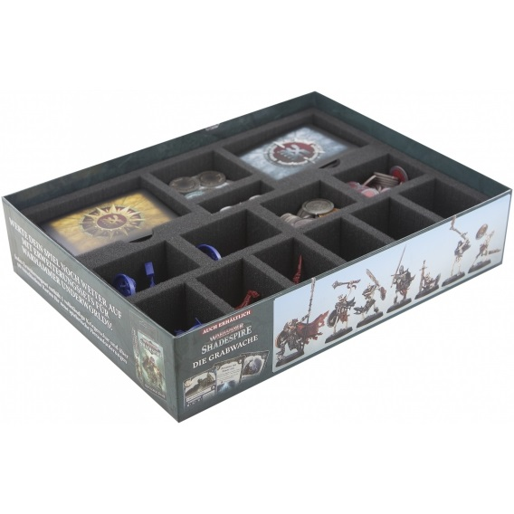 Feldherr Zestaw Gąbek do Warhammer Underworlds: Shadespire core game box