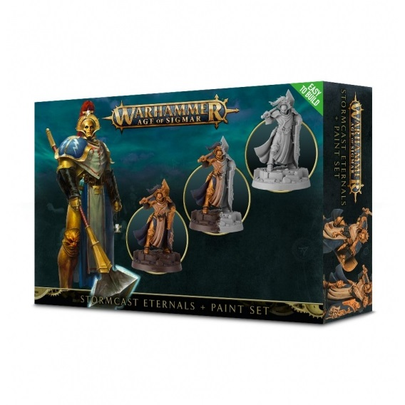 Stormcast Eternals + Paint Set Warhammer: Age of Sigmar Games Workshop