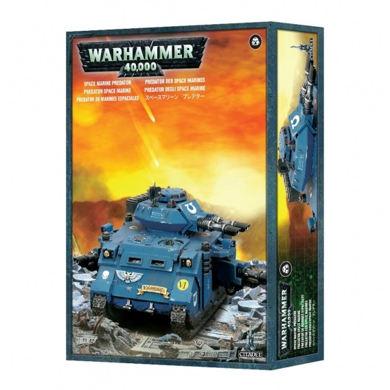 Warhammer 40000: Predator Space Marines Games Workshop