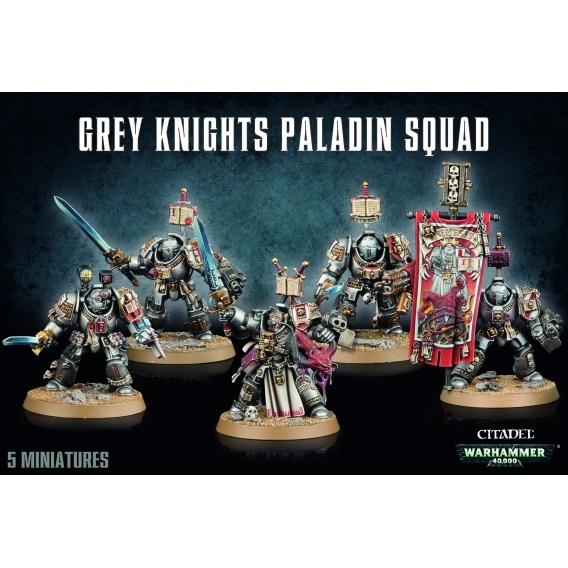 Warhammer 40000: Grey Knights Paladin Squad Warhammer 40.000 Games Workshop