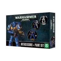 Warhammer 40000: Intercessors Paint Set Space Marines Games Workshop