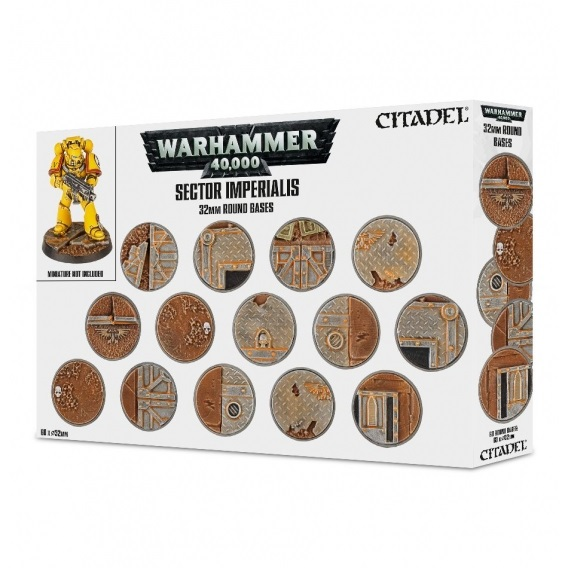 Podstawki: Sector Imperialis 32mm Round Bases