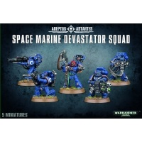 Warhammer 40000: Space Marine Devastator Squad Space Marines Games Workshop