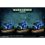 Warhammer 40000: Space Marine Bike Squad