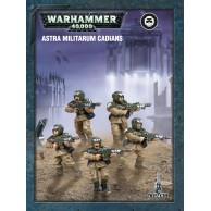 Warhammer 40000: Easy to Build ASTRA Militarum Cadians Astra Militarum Games Workshop