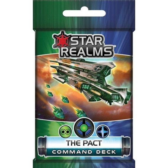 Star Realms: Command Deck - The Pact Star Realms White Goblin Games