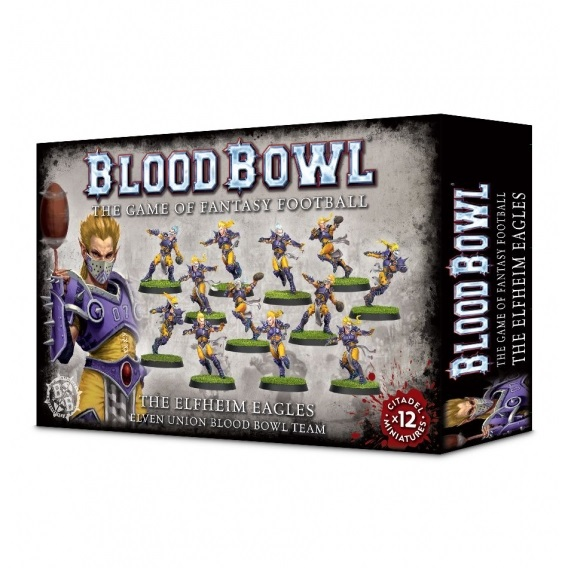 BLOOD BOWL : The Elfheim Eagles Blood Bowl Games Workshop
