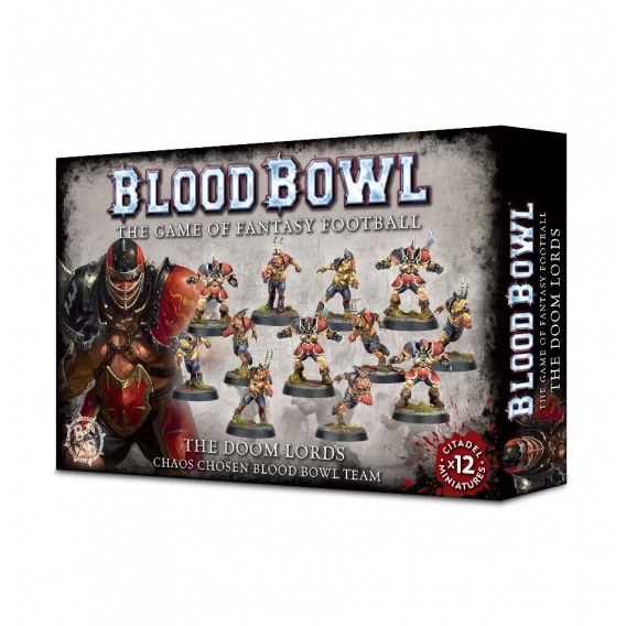 BLOOD BOWL : The Doom Lords Blood Bowl Games Workshop