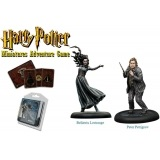 Harry Potter Miniatures 35 mm 2-pack Bellatrix & Wormtail Harry Potter Miniatures Adventure Game Knight Models
