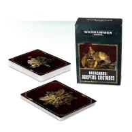Warhammer 40000: Datacards: Adeptus Custodes