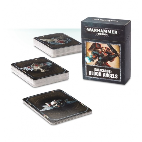 Warhammer 40000 Datacards: Blood Angels Space Marines Games Workshop
