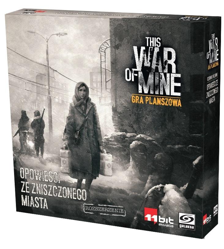 This War of Mine: Gra planszowa - Opowieści ze zniszczonego miasta