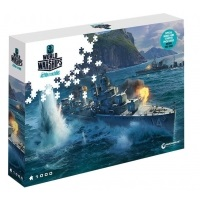 PUZZLE 1000 WORLD OF TANKS. PAN-ASIAN DESTROYERS
