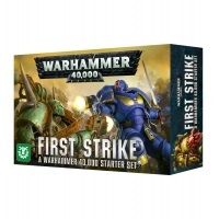 WARHAMMER 40000: FIRST STRIKE Space Marines Games Workshop